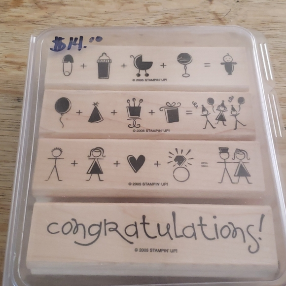 2005 It all adds up stamp set